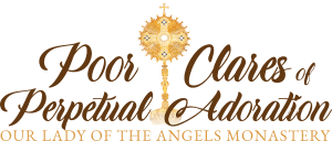 Poor Clares of Perpetual Adoration Logo